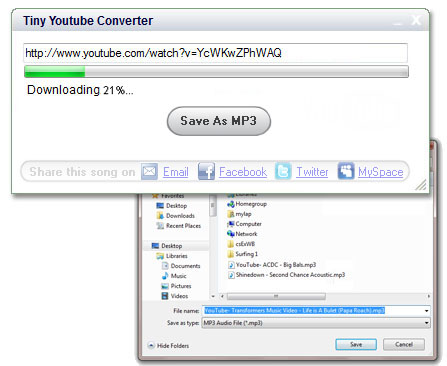 Tiny-Youtube-MP3-Converter