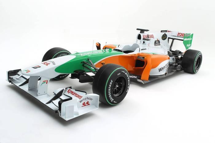 F1 2010, autos de la fórmula 1 de la campaña 2010