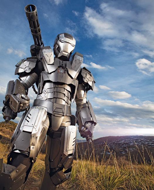 Traje de Iron Man, construyen un disfraz muy real del superhéroe