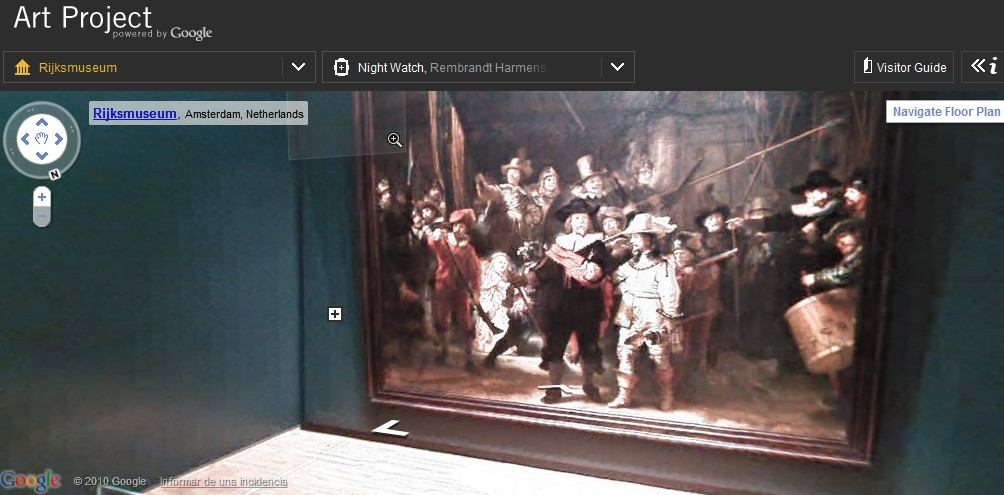 Visitar museos virtuales con Google Art Project