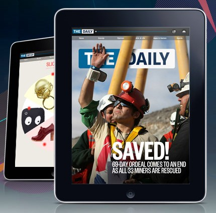 Revista del iPad The Daily