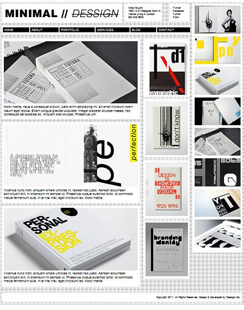 Temas WordPress gratis (4 plantillas), con diseño minimalista | woratek