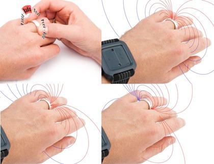 Anillo magnético Nenya, gira para controlar celular