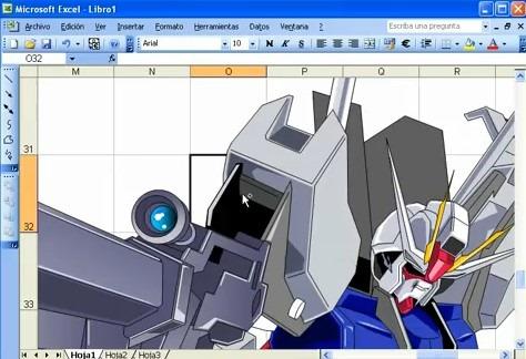 Dibujos en Microsoft Excel