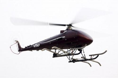 Helicoptero no tripulado V750