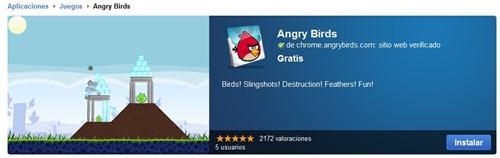 Instalar  Angry Birds