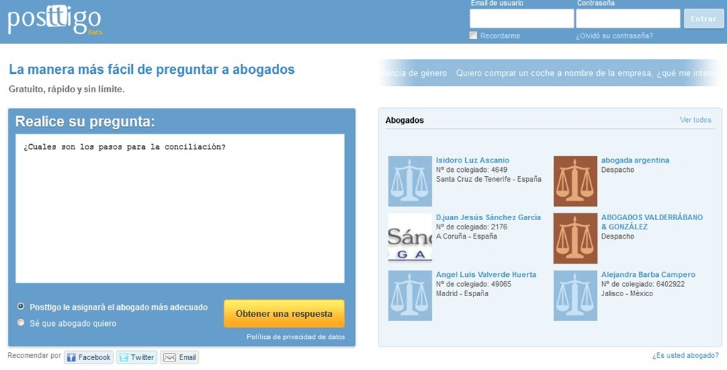 consultas abogados gratis online espana
