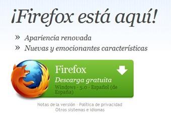 Descargar Firefox 5