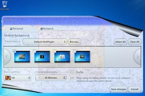 fondos de pantalla Windows 7 Starter