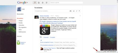 Google  con fondo de imagen