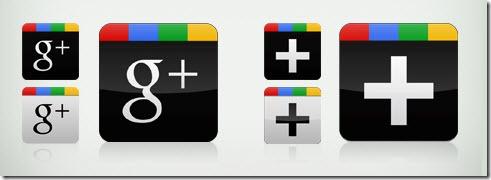 Iconos Google Plus de Abhashthapa