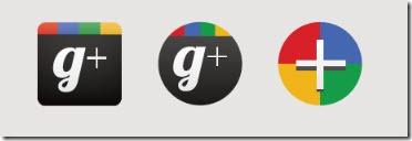 Iconos Google Plus de David Silva