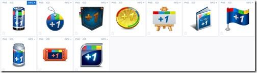 Iconos Google Plus de  Iconshock