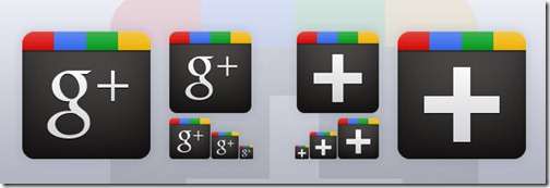 Iconos Google Plus de Sean McCabe