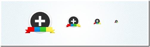Iconos Google Plus de Taiyab Raja