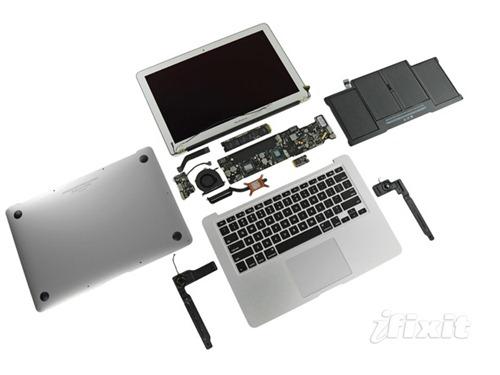 MacBook Air desmontaje 2011