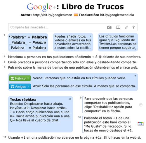 Trucos Google   (Google Plus)