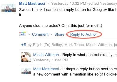 Extensiones para Google + [Google Plus]