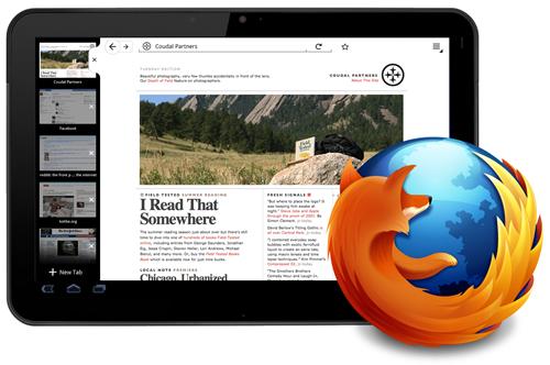 Firefox para tablets