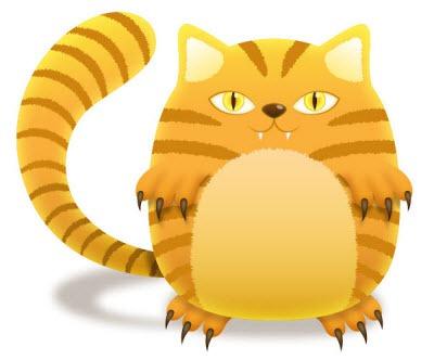 Hacer gato con  Illustartor