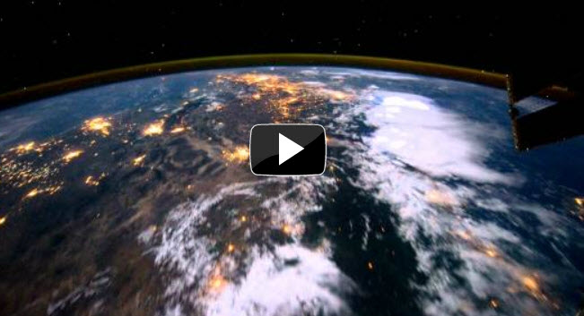 Video de la tierra desde la ISS