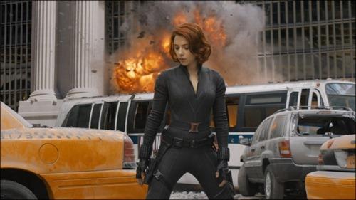 Black Widow en los Vengadores