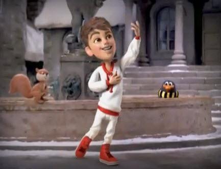 Justin Bieber en video por navidad