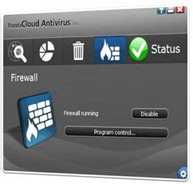 Panda cloud antivirus y firewall