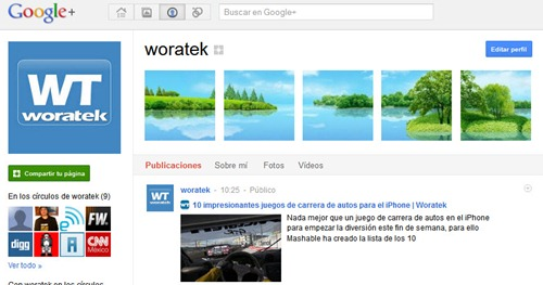 Woratek google plus
