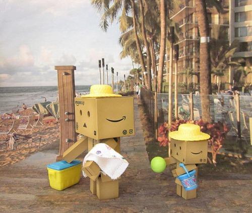 Danbo robot cartón 5