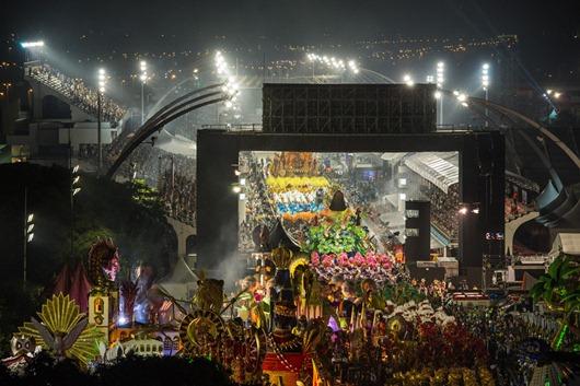 Carnaval 2012, escuela de Samba -Sao Paulo