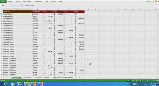 MS Office 15 Excel capturas de pantalla