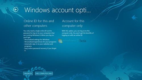 Windows-8-con Live Id de MS Windows Live