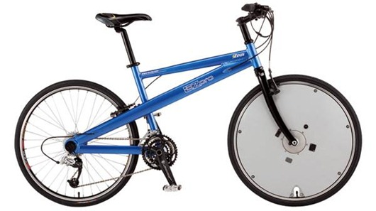 Bicicleta convencional a eléctrica con  db revO