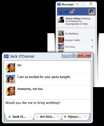 Facebook messenger final Windows