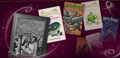Harrry Potter en ebooks en Pottermore