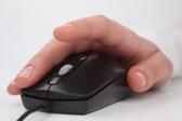 Mano clic mouse