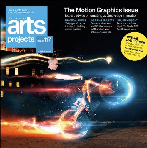 Portada de revista arts-projects-issue-117