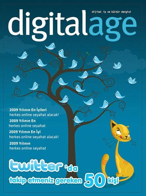 Portada de revista digitalage-magazine