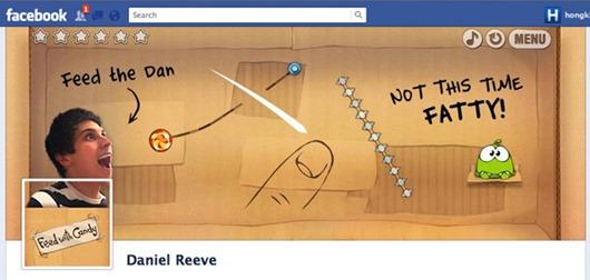 daniel-reeve portada de Facebook