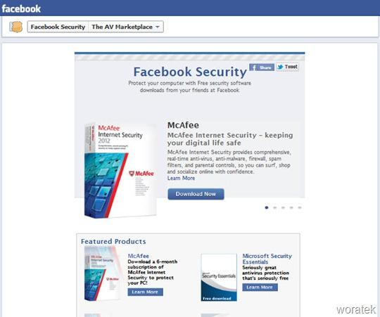 Facebook security AV