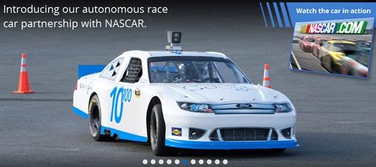 Google racing Nascar