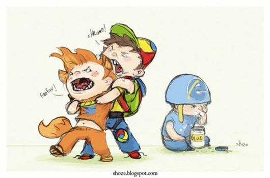 Guerra de navegadores 4