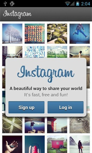 Instagram para Android  2