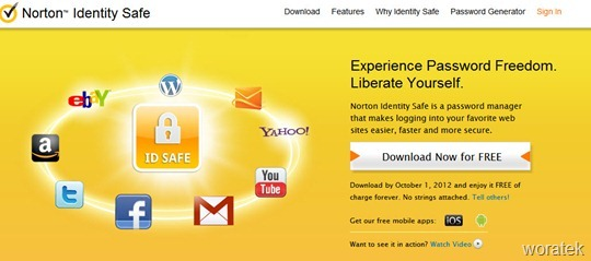 Norton Identity Safe