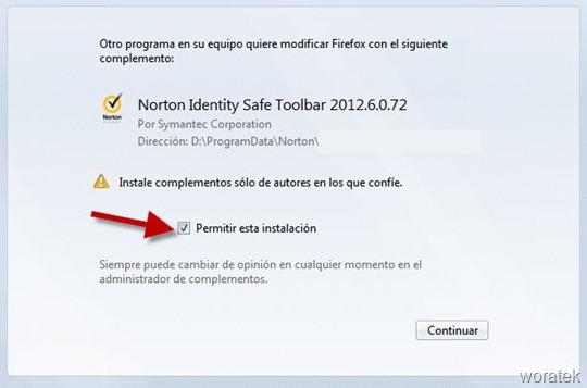 Norton Identity Toolbar