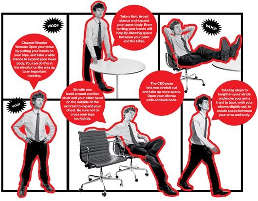 Posturas para evitar estres