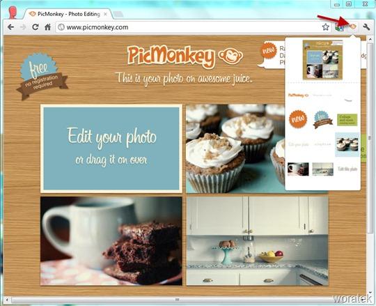 Extensión PicMonkey