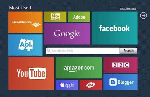 Mysite Chrome speed dial
