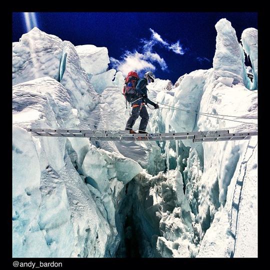 National Geographic en el Everest